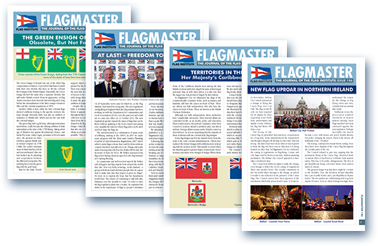 Four Flagmaster cover pages