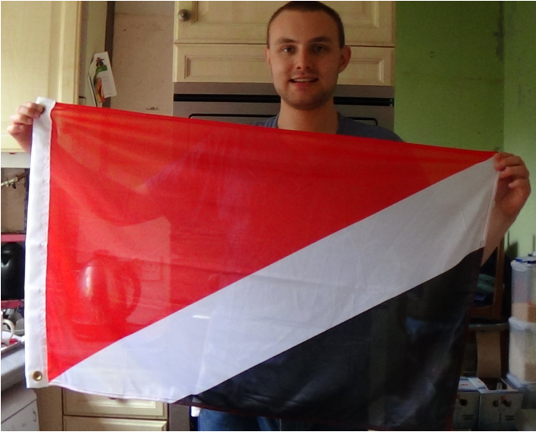 Flag of Sealand Alex Crouch