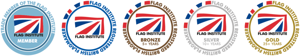 Trade and Registered British Flagmakers Badges