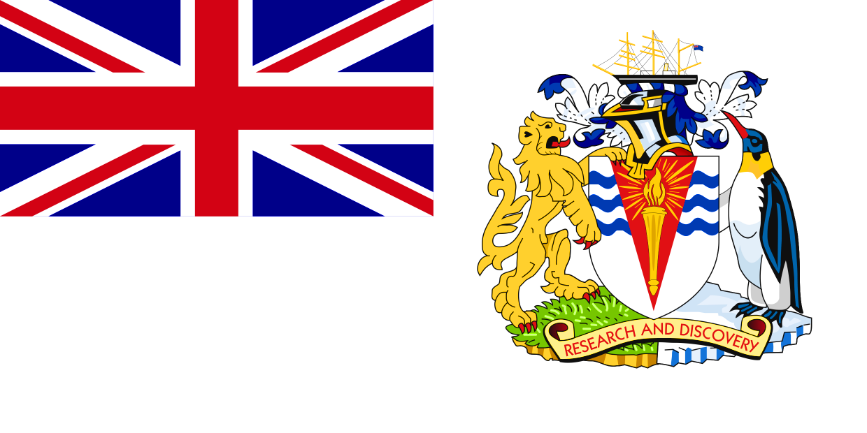 British Antarctic Territory - Birthday of Her Majesty The Queen